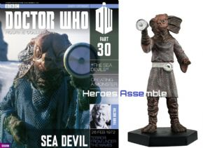 Doctor Who Figurine Collection #030 Sea Devil Eaglemoss